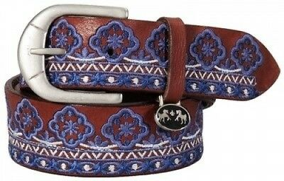 (L LD) - Equine Couture Angela Leather Belt. Best Price