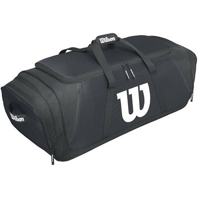 Wilson Team Gear Baseball Bag, Black. Delivery is Free