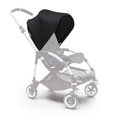 New bugaboo bee 3 black extantdable hood sun canopy !!