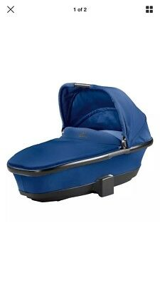 QUINNY Moodd Buzz FOLDABLE CARRYCOT Blue Base Brand New