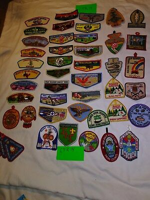 Boy Scout patches cjr14