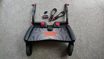 Lascal buggy board maxi with uncut connectors, strap and key
