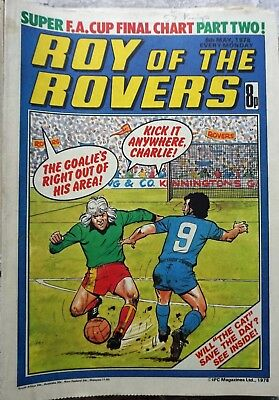 Roy of the Rovers Comics x 17 6th May- 26th Aug 1978 inc 100th Issue
