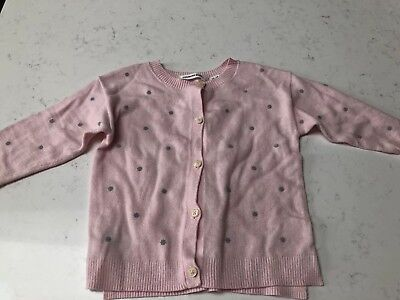 Country Road Baby Girl Cardigan Size 12-18 Months