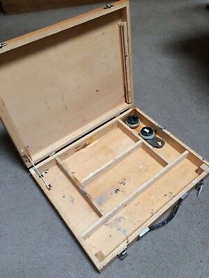 Artists Paint Box With Palette