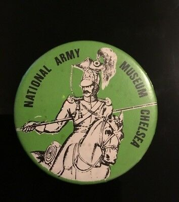 """NATIONAL ARMY ,   2"""" Button Pin Badge"""