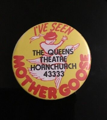 """MOTHER GOOSE ,   2"""" Button Pin Badge"""