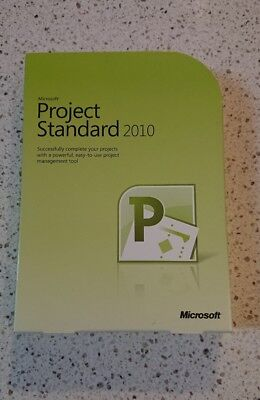 Microsoft Project Standard 2010, Full Retail, DVD included