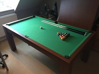 GAMESSON FOOT Pool Table Tennis Table PicClick UK - Table tennis and billiards table