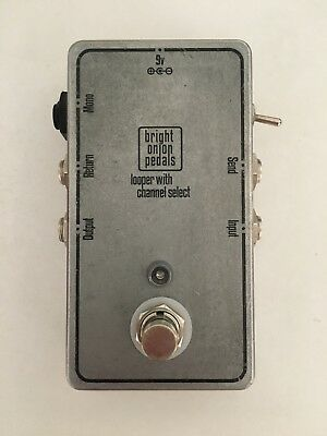 Bright Onion Pedals Looper with Amp Channel Selector