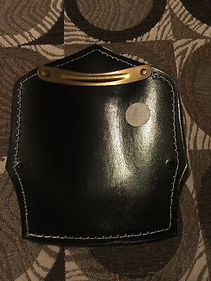 Cairns & Conway Leather Fire Front Shield  Firefighter Gear