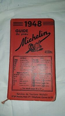 Guide Michelin rouge 1948