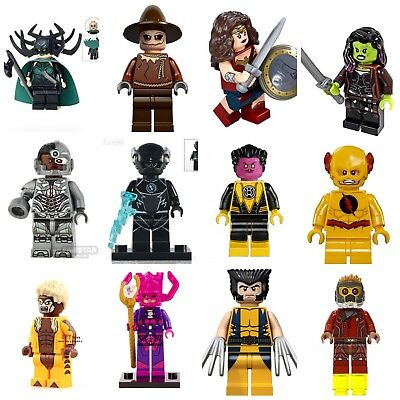 X-Men Xmen Infinity War Marvel Super Hero Mini Figures Lego Cyclops & 60+ Other