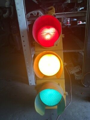 BIG Econolite-Traffic Signal-Red Yellow Green Stop Light-