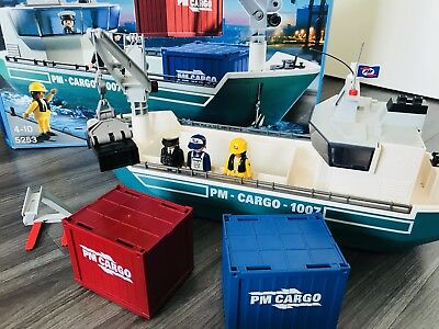 Playmobil City Action Containerschiff 5253