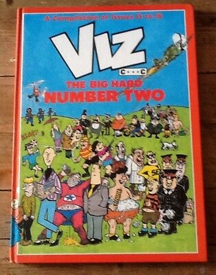 Viz Hardback Annual The Big Hard One Number Two