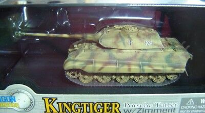 "Dragon Armor 1:72 60106 Kingtiger Zimmerit sPzAbt 501 Normandy 1944 ""Neu"""