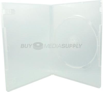 14mm Standard Clear 1 Disc DVD Case - 100 Pack