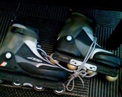 K2 Natural Aggressive Inline Skates UK 11 USA 12 EUR 46 Used Great Condition