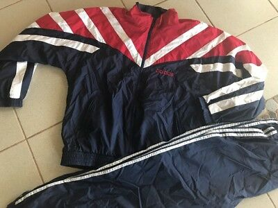 Adidas Trainingsjacke Anzug Vintage Retro Gr.6 L Hose Jacke Equipment 90er