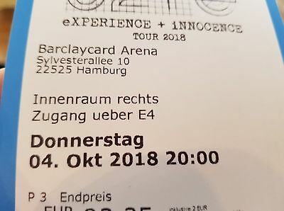 U2 Experience And Innocence Tour 2 Standing Tickets Hamburg 4