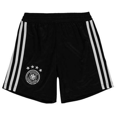 Adidas Germany Home Football Shorts 2018 Kids Age 7 - 8 year BRAND NEW WITH TAGS