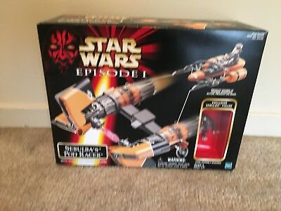 STAR WARS EPISODE 1 Sebulba's POD RACER PLAYSET SEALED