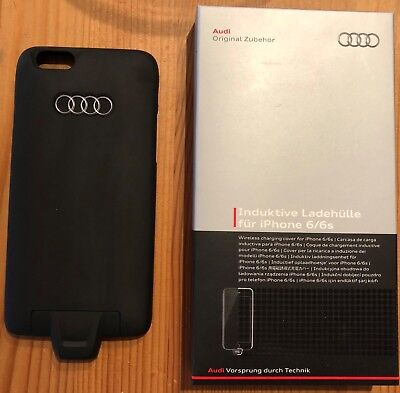 Audi Induktive Ladehülle Original TOP Schutzhülle Cover iPhone 6 6s 8W0051435 QI