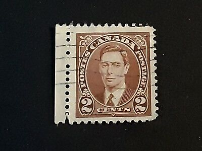 Canadian Postage Stamps - King George VI - issued 1937