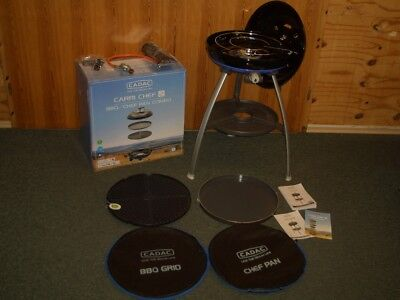 Camping Cadac Carri Chef 2 Gasgrill Grill BBQ CHEF PAN Combo  30 mbar