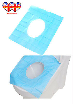 Disposable Waterproof Toilet Seat Covers Hygienic Travel Paper Mat.(Pack of 5 )