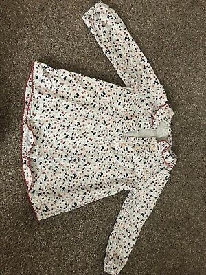 Girls Floral Tunic Top Long Sleeved 18-24 Months