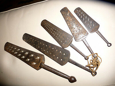 5 Antique 19th Century Gauges – Clock Watchmakers Tool