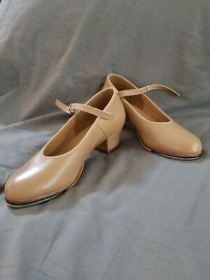Bloch Tan Showtapper Tap Shoes Never Worn Perfect Condition Competition or Class