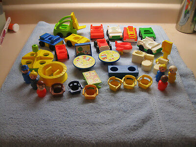 Vintage Fisher Price Little People lot, 1963-1996
