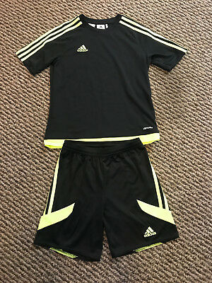 Boys Adidas Shorts and T Shirt Set 11/12 Years