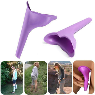 Portable Outdoor Female Urinal Toilet Soft Silicone Travel Stand Up Pee Device