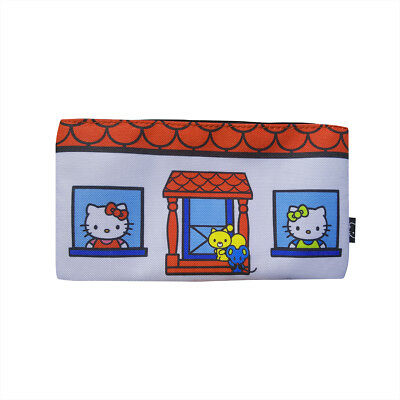 Sanrio Hello Kitty House Loungefly Pencil Case or Cosmetic Bag NEW FREE SHIPPING