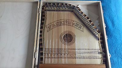 handmade 82 string estonian kannel with handmade case very good condition unique