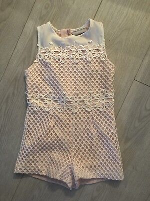 Girls Playsuit Age 5 Years