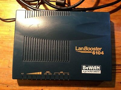BeWAN Systems - Lan Booster 6104 - Switch - Hub - Routeur ADSL