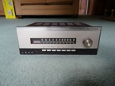 Leak Stereofetic FM Tuner Radio Vintage Separate ~ Great Working Condition