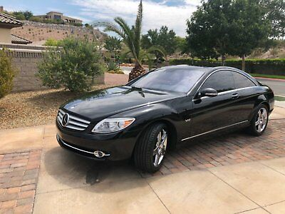 2008 Mercedes-Benz CL-Class  2008 Mercedes Benz CL600