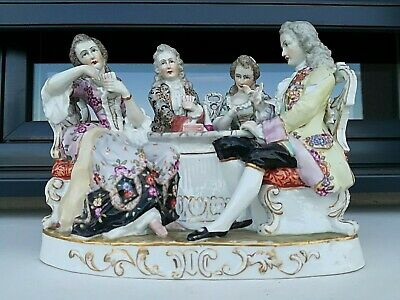 Antique German Meissen porcelain group