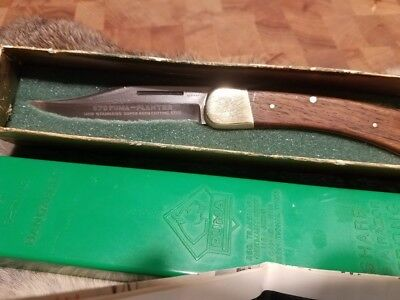 Vintage Puma Planter 970 Knife - 1970