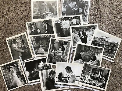 Lot of 15 Original Gone With The Wind 8 X 10 B/W photos