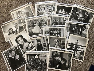 Lot of 16 Original Gone With The Wind 8 X 10 B/W photos