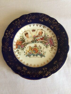 King Edward VII and Queen Alexandra 1902 Coronation Plate