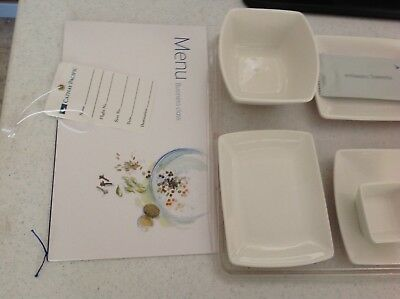Airline dish sets from Cathay pacific airlines