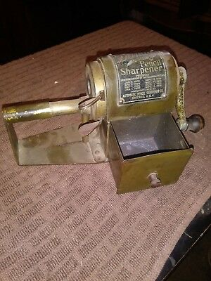 Antique Dandy Automatic Feed Pencil Sharpener